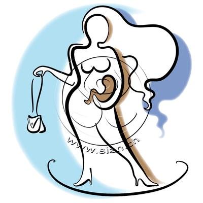 *mami* bild für hebamme barbara stemmler / illustrator