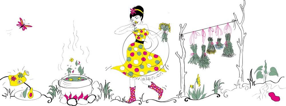 *frauenheilkunde* bild für ladyplanet.ch / illustrater