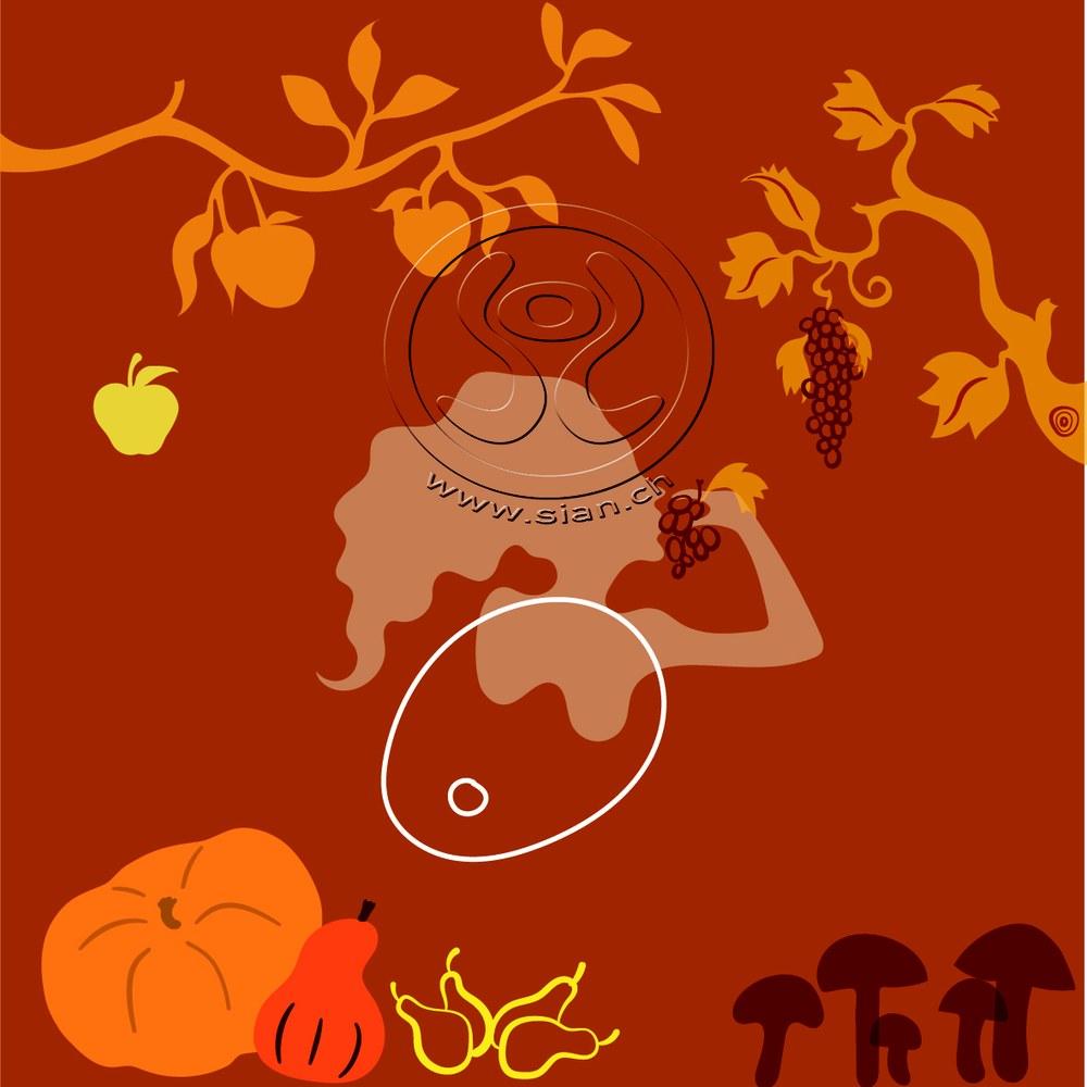 *herbstbild* bild für frautark.ch / illustrator