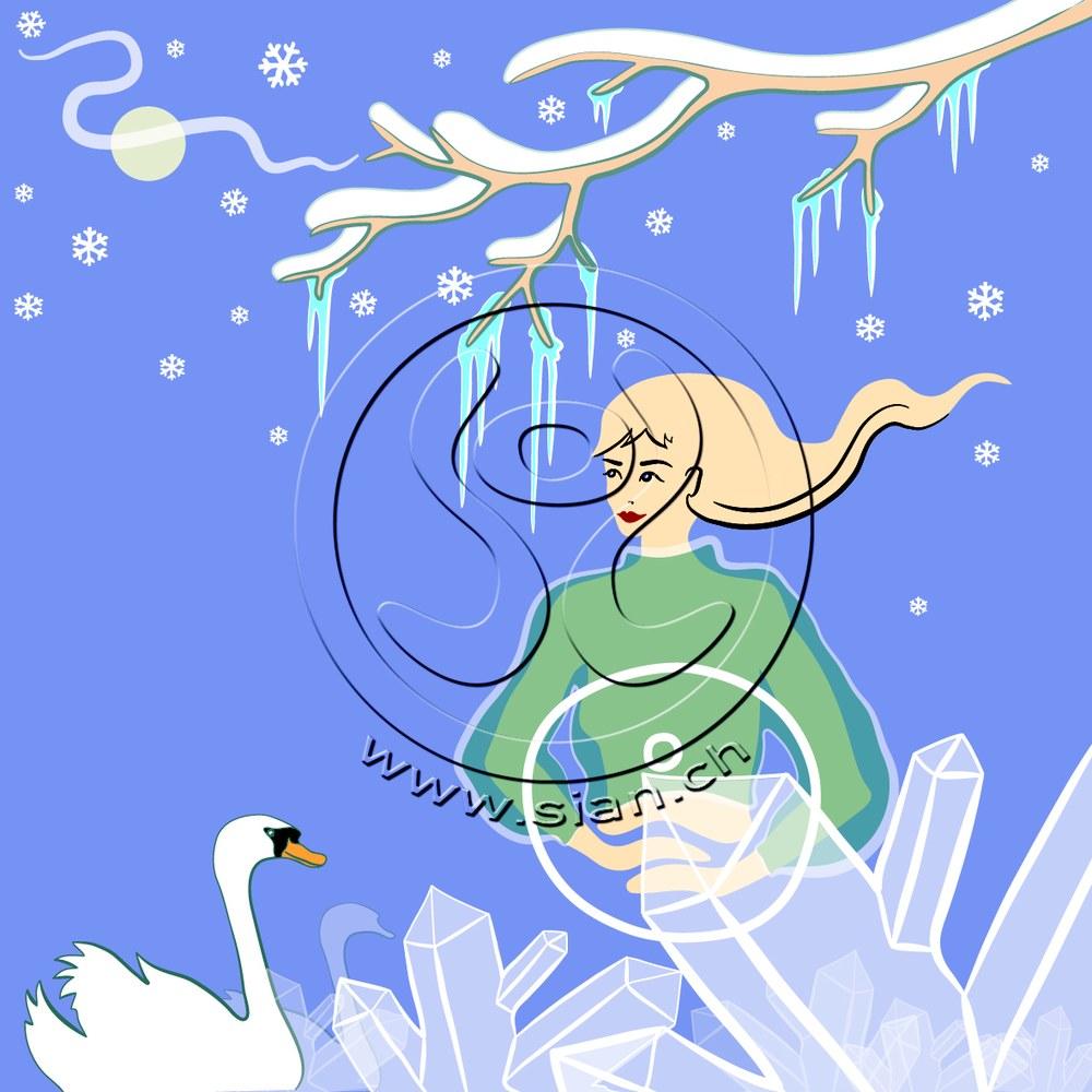 *winterbild* bild für frautark.ch / illustrator
