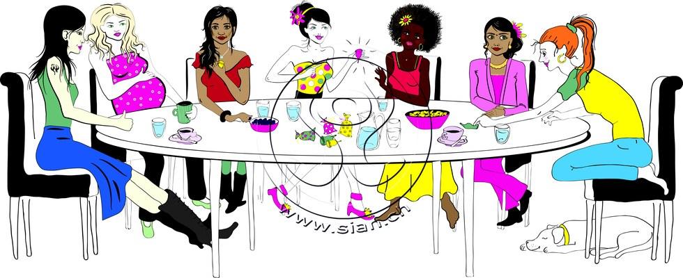 *ladysnight* bild für ladyplanet.ch / illustrator