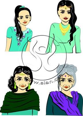 *orient lady* bild für ladyplanet.ch / illustrator